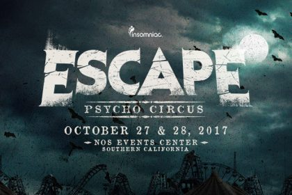 Escape: Psycho Circus 2017 Lineup Is Here!