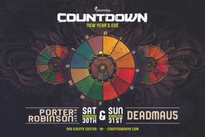 Countdown NYE 2017 Hits SoCal December With deadmau5 and Porter Robinson