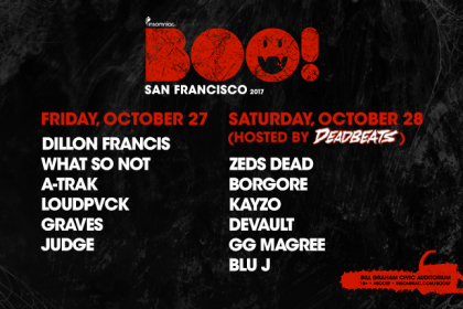 BOO! San Francisco 2017 Single-Day Tickets on Sale Now