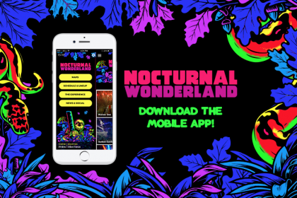 Nocturnal Wonderland 2017 App and Set Times Now Available