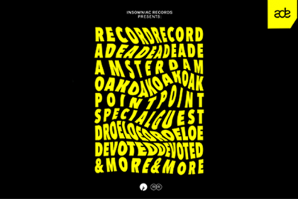 Insomniac Records Returns to ADE With Record Record Showcase