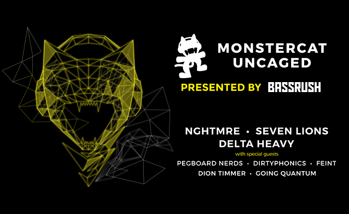 Bassrush Goes Wild at ADE With Monstercat Uncaged