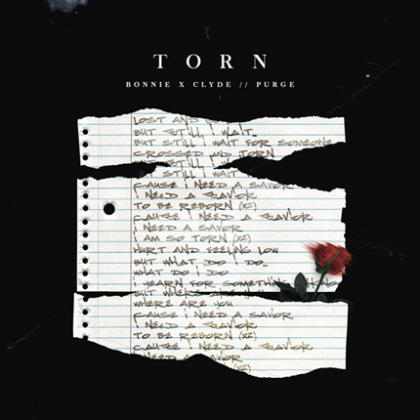 """Social Anxiety Gets an Arena-Size Breakbeat Workout on Bonnie X Clyde's Newest Single """"Torn"""" With Purge on Insomniac Records"""