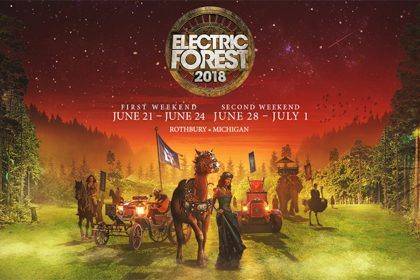 Electric Forest 2018 Lineup and Tickets Available Now