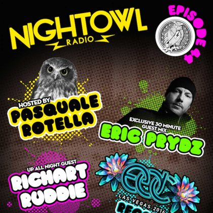 'Night Owl Radio' 044 ft. Richart Ruddie and Eric Prydz
