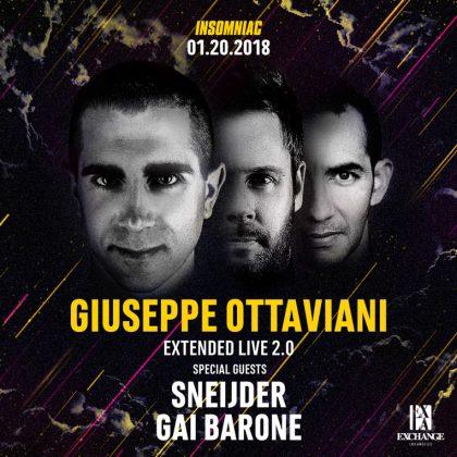 Giuseppe Ottaviani with Sneijder & Gai Barone