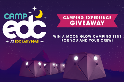 Win a Moon Glow Camping Tent in This EDC Las Vegas 2018 Giveaway