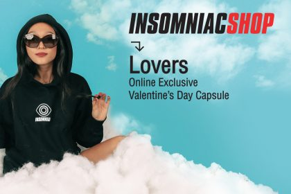 "Insomniac Shop Introduces Limited-Edition ""Lovers"" Collection for February"