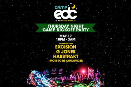 Lineup Revealed for Camp EDC Kickoff Party