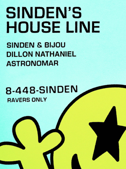Sinden Rings in New Houseline Imprint With 'Sinden's House Line Vol. 1' EP