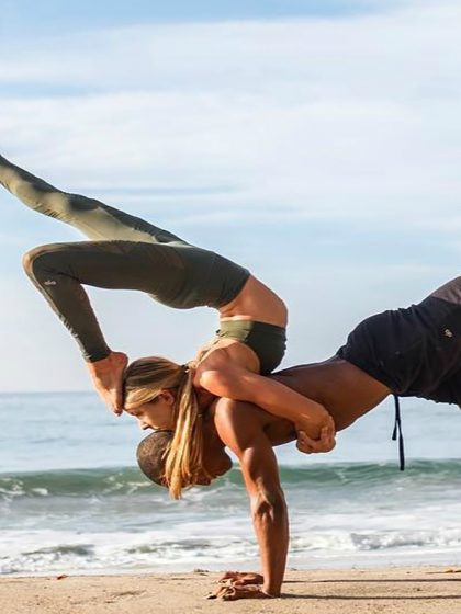 Camp EDC Spotlight: Acro Yoga 101