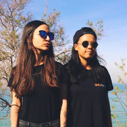 "Black Girl / White Girl's ""Trippin' Sun"" Is a Disorienting Tech House Stunner"