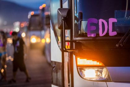 New Shuttle Locations Added for EDC Las Vegas 2018