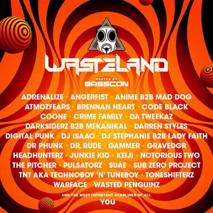 Go Off the Grid Beside Basscon at wasteLAND With This EDC Las Vegas 2018 Playlist