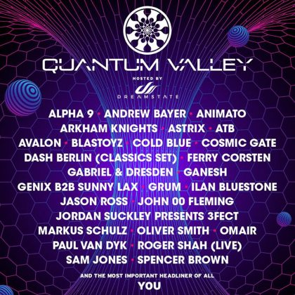 Lift off Alongside Dreamstate at quantumVALLEY With This EDC Las Vegas 2018 Playlist