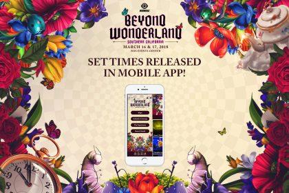 Beyond Wonderland SoCal 2018 Mobile App and Set Times Released