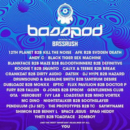 Ride the Rails of Bassrush at bassPOD With This EDC Las Vegas 2018 Playlist