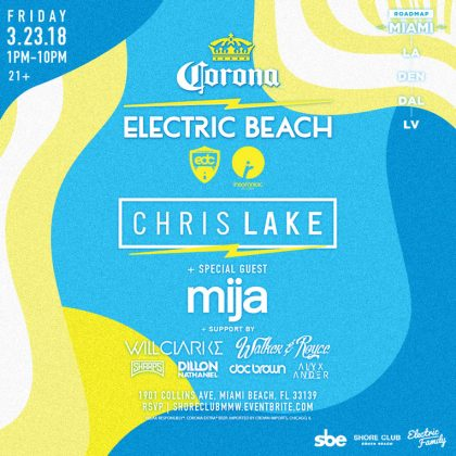 Insomniac Records & Corona Electric Beach