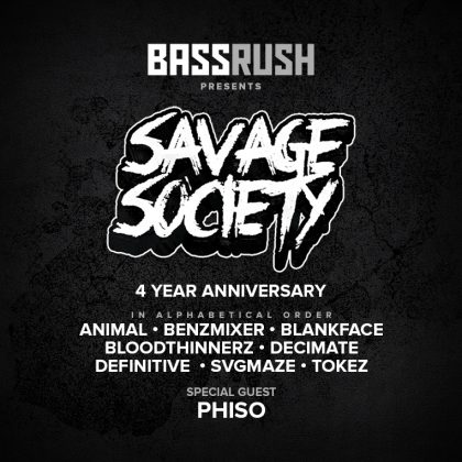 Savage Society 4 Year Anniversary
