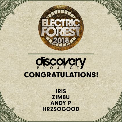 Introducing the Electric Forest 2018 Discovery Project Inductees