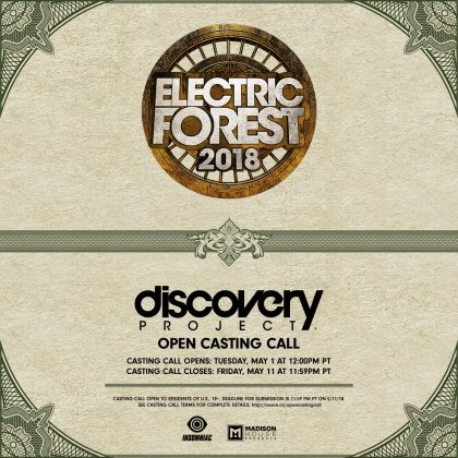 Electric Forest 2018: DJ / Producer