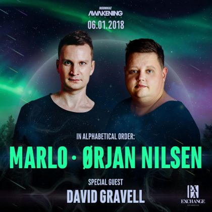 MaRLo & Orjan Nilsen with David Gravell