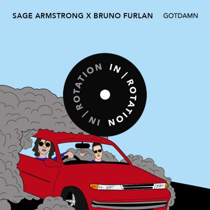 "Sage Armstrong and Bruno Furlan Make It Wobble on ""GOTDAMN"" for IN / ROTATION"