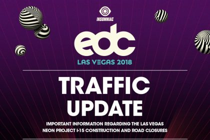 Important EDC Las Vegas Traffic Update