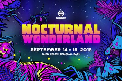 Nocturnal Wonderland 2018 Announcement