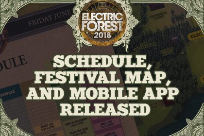 Electric Forest 2018 Mobile App and Set Times Are on Deck