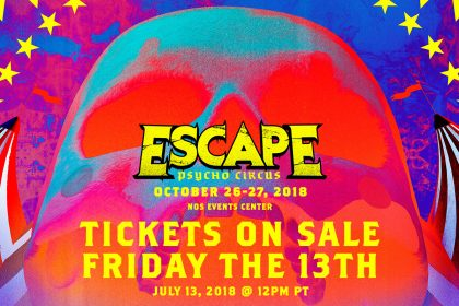 Escape: Psycho Circus 2018 Returns to SoCal This October