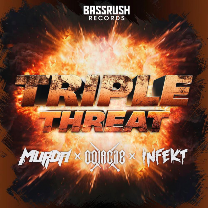 "Oolacile, INFEKT, and MurDa Go Beast-Mode on ""Triple Threat"" for Bassrush Records"