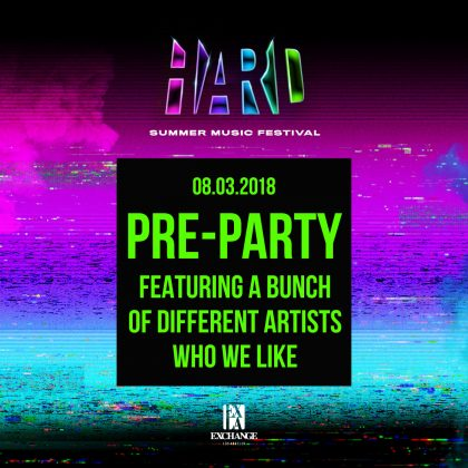 HARD Summer Pre-Party
