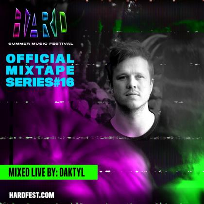 Daktyl Packs Eclectic Electronic Bliss Into His HARD Summer 2018 Mixtape