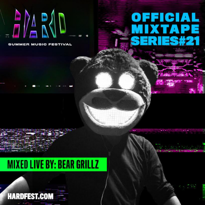 Bear Grillz Busts out the Claws on HARD Summer 2018 Mixtape