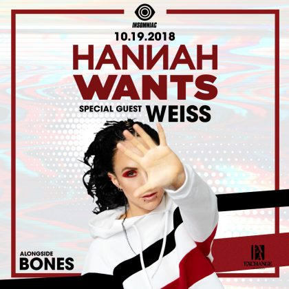 Hannah Wants with Weiss