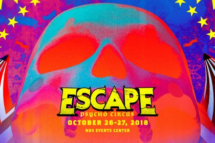 Escape: Psycho Circus 2018 Mobile App & Set Times Released