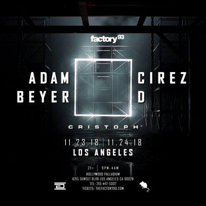 Adam Beyer x Cirez D