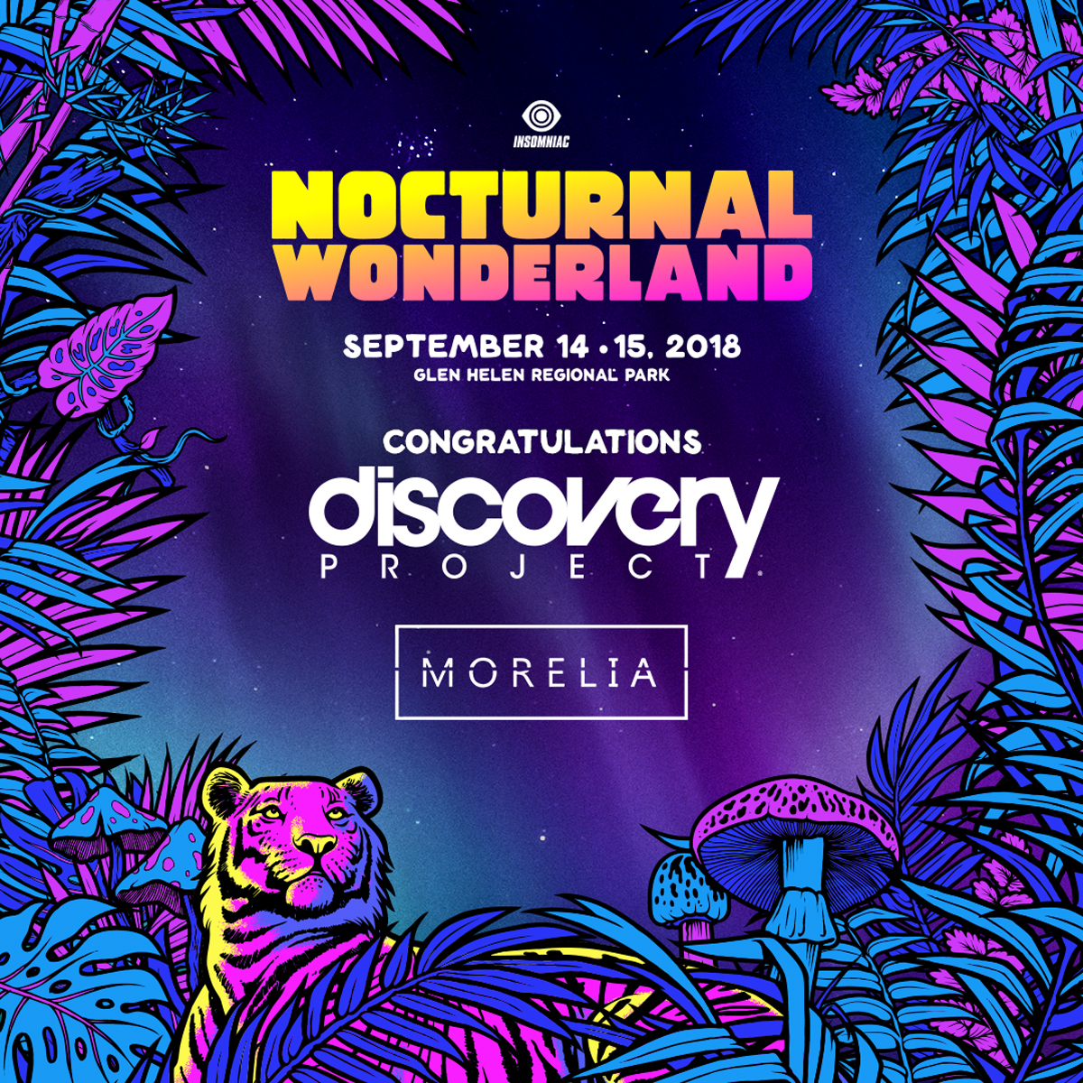 Introducing the Nocturnal Wonderland 2018 Discovery Project Winner