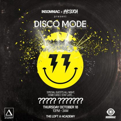 Disco Mode (Special Guests)