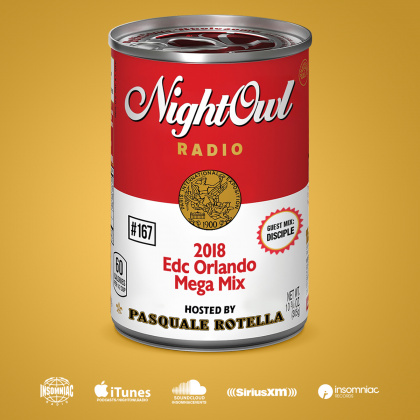 Night Owl Radio 167 ft. EDC Orlando 2018 Mega-Mix