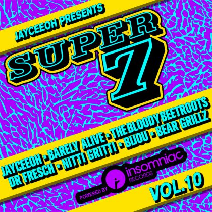 Jayceeoh Elevates Things to the Next Level With the Tenth Volume of 'Super 7' Mix Series
