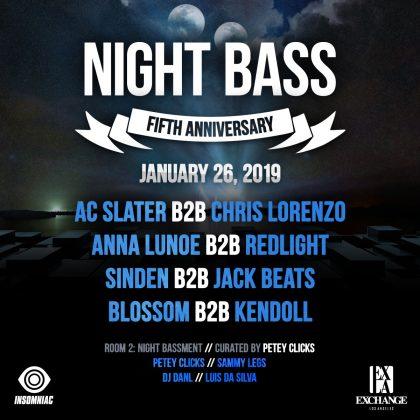 Night Bass Fifth Anniversary