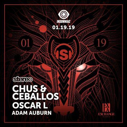 Chus & Ceballos with Oscar L