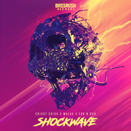 "Crissy Criss, Malux, and Erb N Dub Drop Dancefloor Fire With ""Shockwave"" on Bassrush Records"