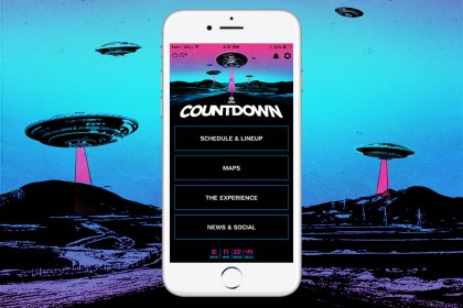Countdown 2018 Mobile App & Set Times Released