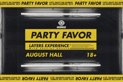 Announcing: Party Favor – Layers Experience at August Hall