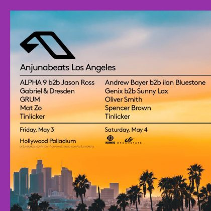 Anjunabeats Los Angeles