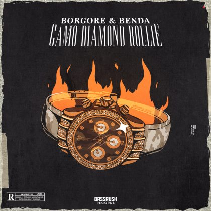 "Borgore and Benda Drop the Top on ""Camo Diamond Rollie"" for Bassrush Records"