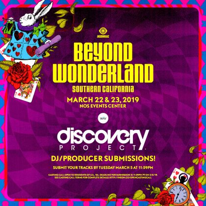 Beyond Wonderland SoCal 2019: DJ / Producer